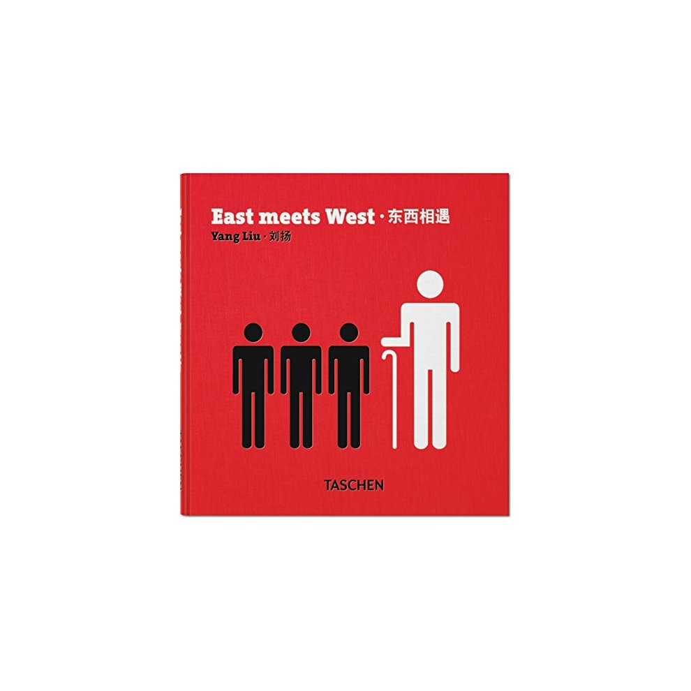 East Meets West An Infographic Portrait by Yang Liu