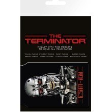 The Terminator Endoskeleton Travel Pass Card Holder