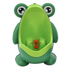 Potty Training Boy Baby Potty Chair Toilet Seats Bathroom Accessories Frog Green