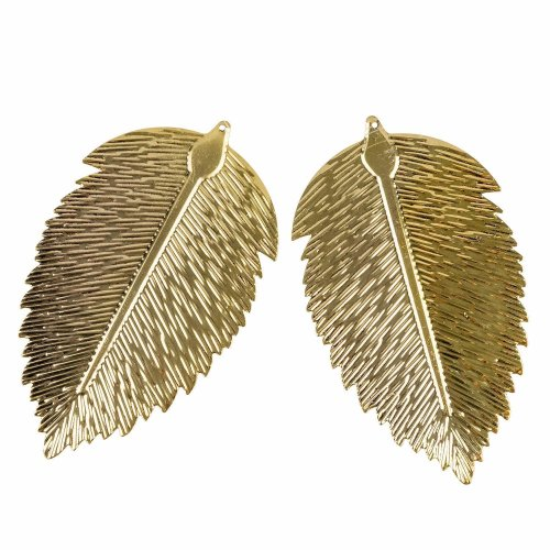 2PC Pack Gold Leaf Decorations TRIXES