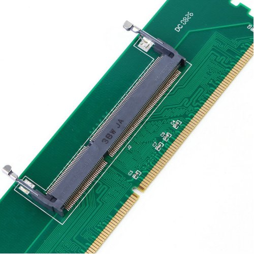 DDR3 Laptop Notebook SO-DIMM to Desktop DIMM Memory Adapter Converter
