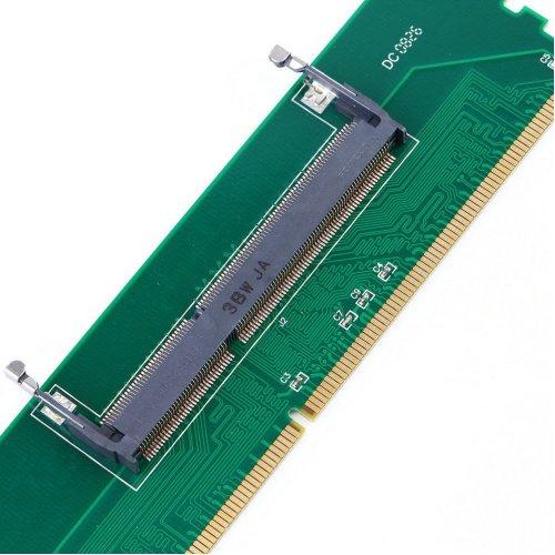 DDR3 Laptop Notebook SO-DIMM to Desktop DIMM Memory Adapter Converter