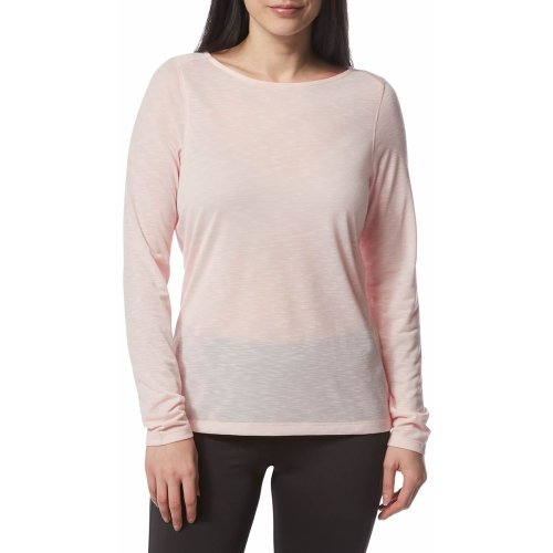 Craghoppers Womens  NosiLife Erin Long Sleeved Top SeashellPink (UK14)