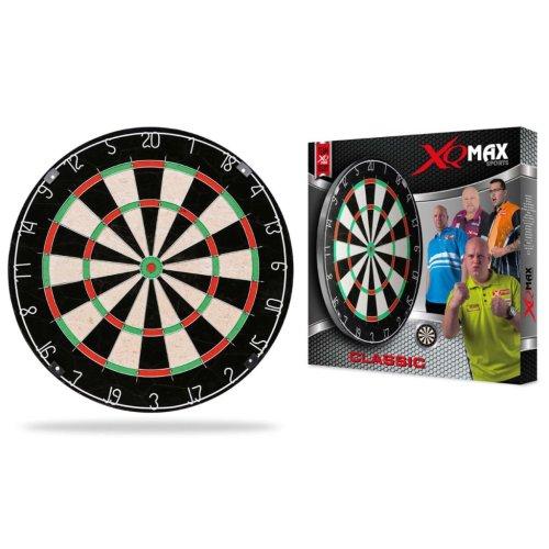 XQmax Darts Dartboard Classic Bristle
