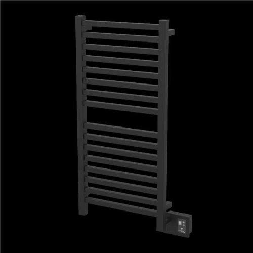 Amba Q2042MB 44.81 x 24.31 x 4 - 4.75 in. Towel Rack - Matte Black
