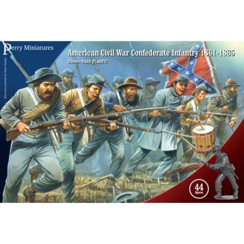Perry Miniatures American Civil War Confederate Infantry 1861-65