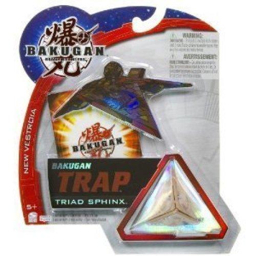 Bakugan Trap Triad Sphinx Brown (Subterra)