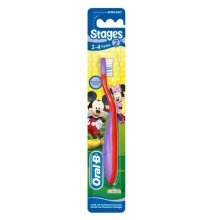 Oral-B Stages Toothbrush 2-4yrs