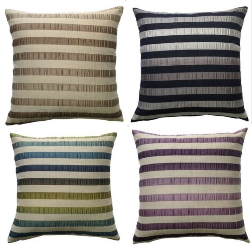 Contour Stripes Sofa Bed Modern Cushion Covers 17 x 17