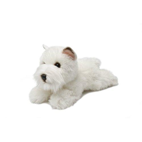 "8"" Miyoni Westie Soft Toy - Dogs 8inch Aurora Plush New -  miyoni westie dogs 8inch aurora plush toy new soft"