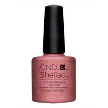 CND Shellac Nail Polish - Untitled Bronze