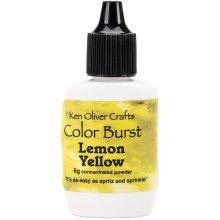 Ken Oliver Color Burst Powder 6gm-Lemon Yellow