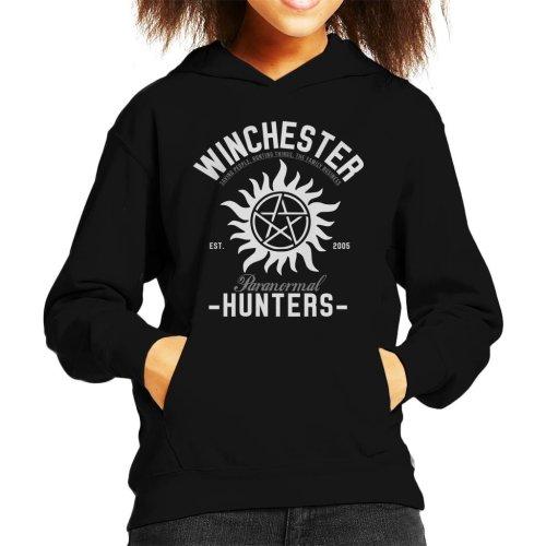 Winchester Paranormal Hunters Kid's Hooded Sweatshirt