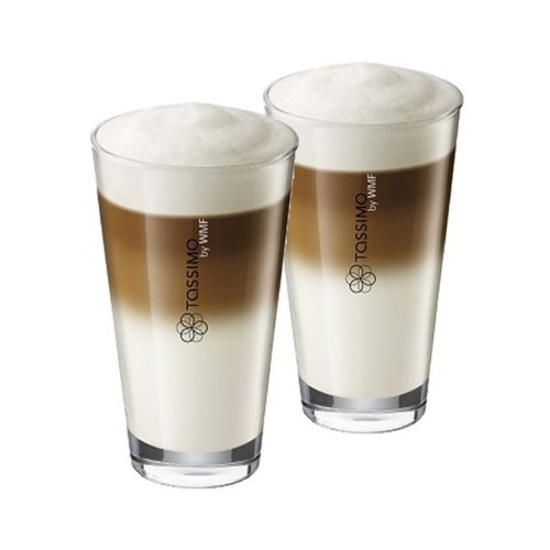 Tassimo Latte Glasses Pack Of 2