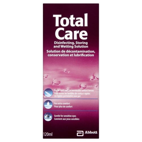 Total Care Disinfecting Solution 120ml
