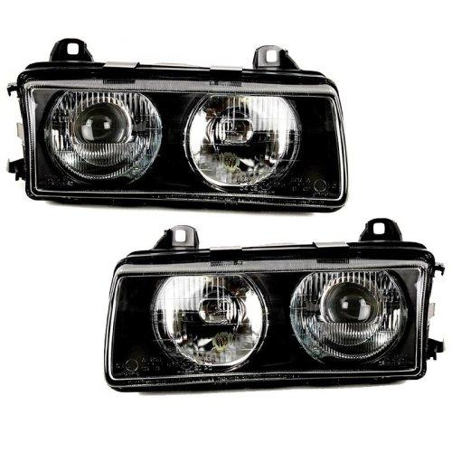 Bmw 3 Series E36 1994-2000 Headlights Headlamps 1 Pair O/s & N/s