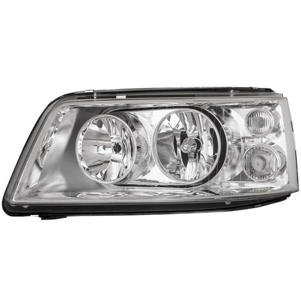 Headlight right twin reflector VW Transporter T5 Caravelle 04-09
