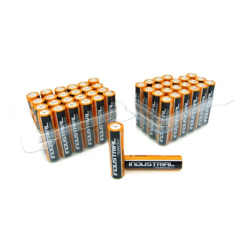 Industrial 2 x 24 Duracell MN2400 Alkaline Batteries Micro AAA Pack