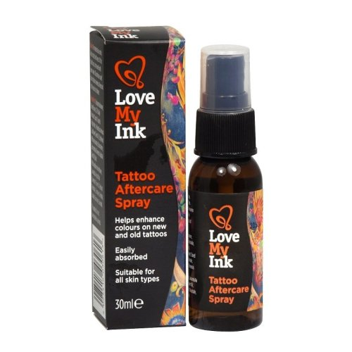 Love My Ink Tattoo Aftercare Spray 30ml