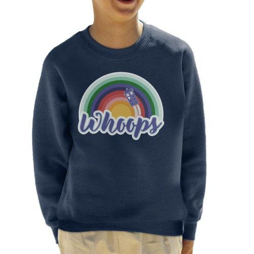 Doctor Who Whoops Kid's Sweatshirt