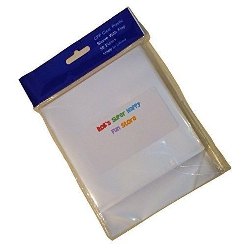 Robs Super Happy Fun Store Clear Storage Sleeves for View Master Reels Packets 50 pcs