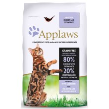 Applaws Cat Dry Chicken With Extra Duck 7.5kg