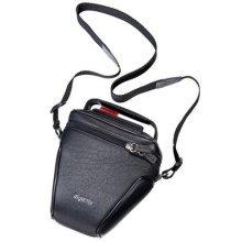 digiETUI Leather Case for Sony Alpha Camera - Black