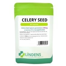 Celery Seed 200mg 60 Capsules All Natural Whole Herb Apium Graveolens