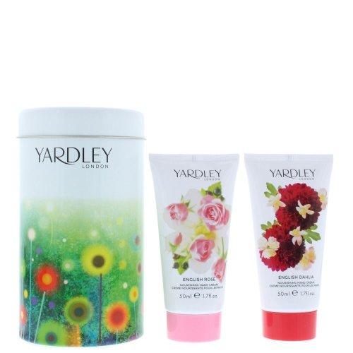 Yardley English Dahlia & English Rose Hand Cream Gift Set