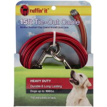 Heavy Duty Cable Tie Out 15ft-