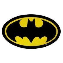 Character World Batman Batcave Original Logo Rug - 98cm x 57cm