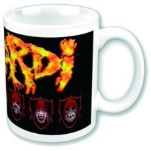 Lordi Mug, Logo -  lordi band logo white coffee mug boxed official gift finland heavy metal rock