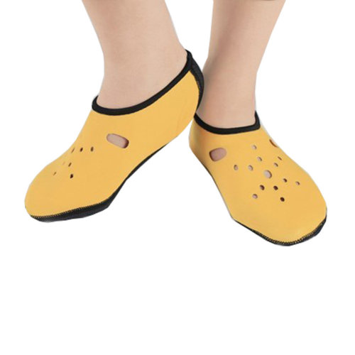 Sand Socks Water Skin Shoes Diving Socks,Yellow XXL