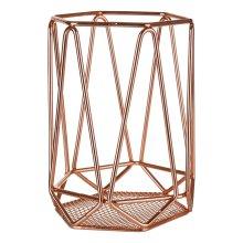 Vertex Utensil Holder - Copper Plated