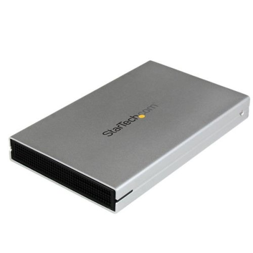 StarTech.com eSATAp / eSATA or USB 3.0 External 2.5in SATA III 6 Gbps Hard Drive Enclosure with UASP - Portable HDD / SDD