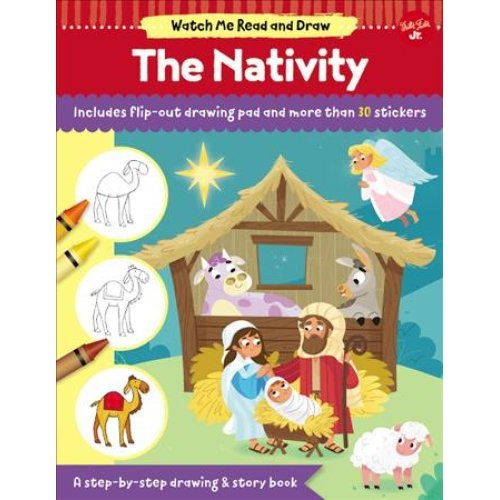 Watch Me Read and Draw: The Nativity