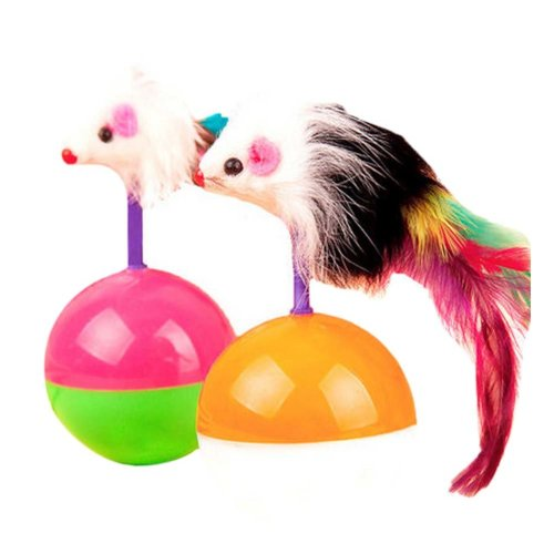 Interactive Educational Toy Dangle Feet Teaser Wand Cat Toys, A