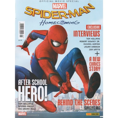 Spider-Man: Homecoming Official Movie Special