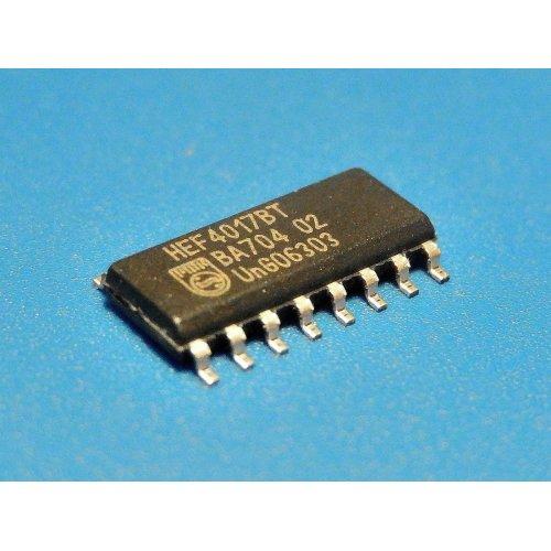 HEF4017BT 4000 series CMOS PHILIPS Semiconductors