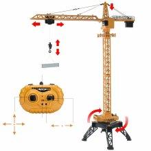 deAO RC Construction Tower Crane Radiocontrol Model Die Cast Truck
