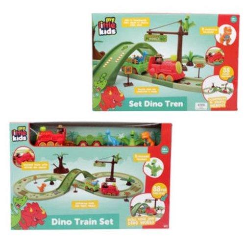 DDI 2324050 Dinos Train Playset - 8 Per Pack - Case of 8