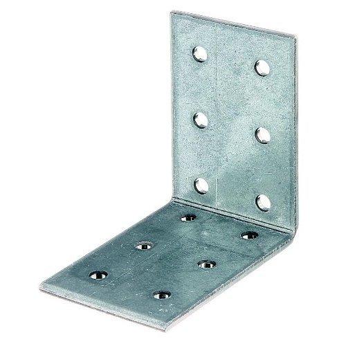 Perforated Plate Angle Bulk Pack Sendzimir-Galvanised 60 x 60 x 40 mm/15 Stk.