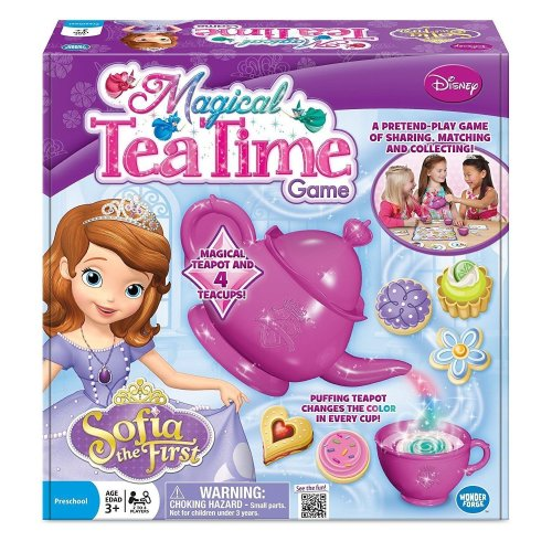 Princess Sofia the First Magical Tea Time Board Game Pretend Play