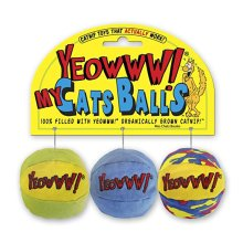 Yeowww! My Cat Balls 3 Pack