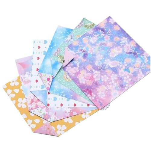 144 Sheets Colorful Square Origami Papers Craft Folding Papers #21