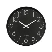 Nordic Decorative Wall Clock Classic Round Hanging Clocks Non-ticking Creative Living Room #9