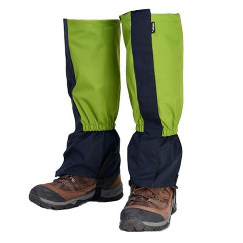 Hiking/Climbing/Camping/Skiing Shoes Gaiter For Adult- Green