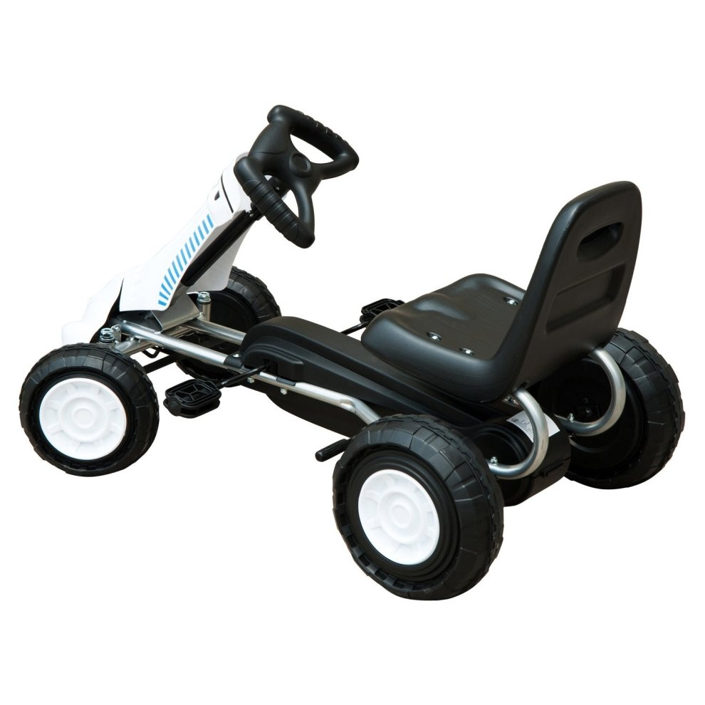 Ride On Toys For Teenagers : Homcom pedal go kart toy kids ride on bike teen sports