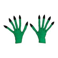 Witch Halloween Theme Gloves For Fancy Dress Costumes Accessory