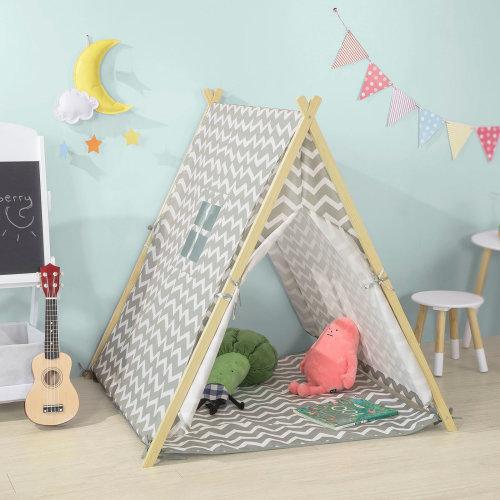 SoBuy® OSS02-HG, Children Kids Play Tent Playhouse with Floor Mat